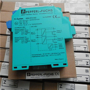 Pepperl fuchs KFD2-SOT2-Ex2 2-channel isolated barrier