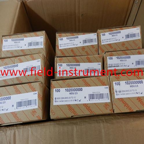 Weidmuller 1011000000 WSI6 WSI 6 Terminal Block Pack of 6