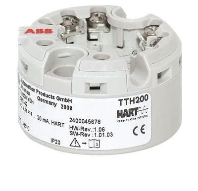 ABB TTH300Y0HBS Head-mount temperature transmitter